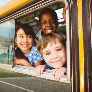 Transporte Colectivo de Crianças